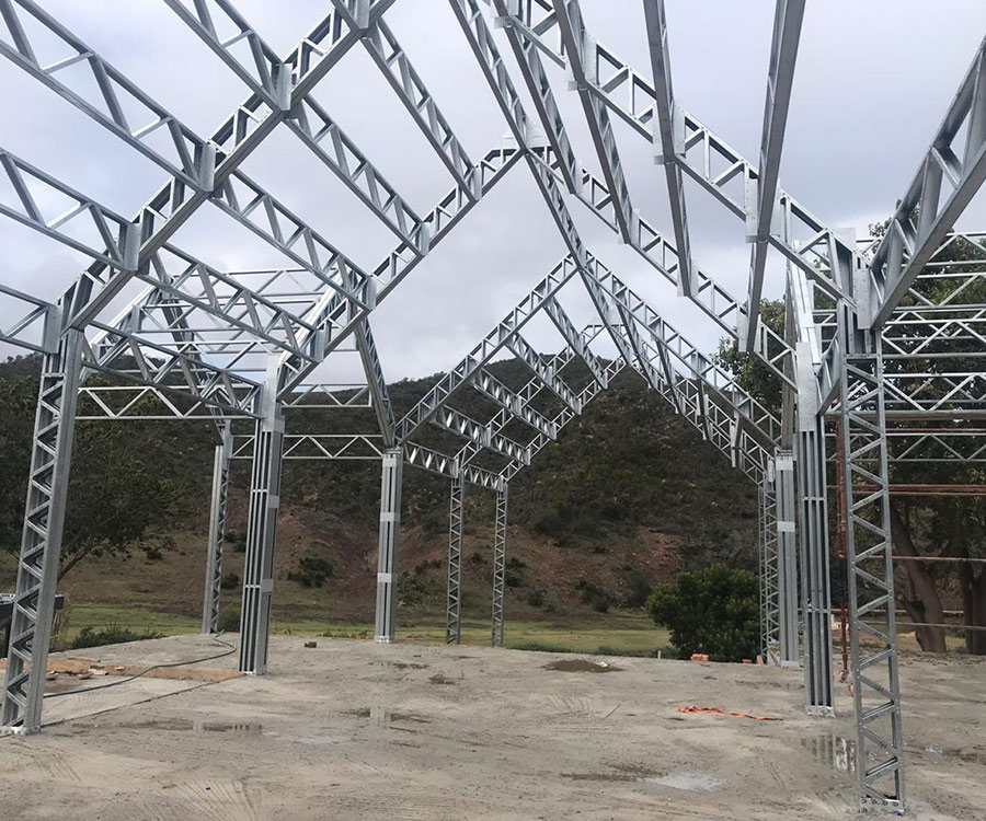 Roof Systems / Trusses - SA Steel Frame Systems